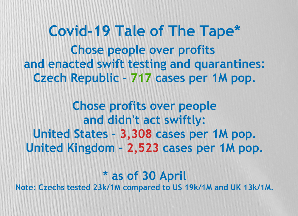 The Czech Republic and the Coronavirus Epidemic